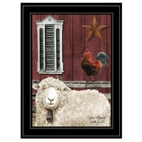 """""""Good Morning"""" by Billy Jacobs, Ready to Hang Framed Print, Black Frame"""