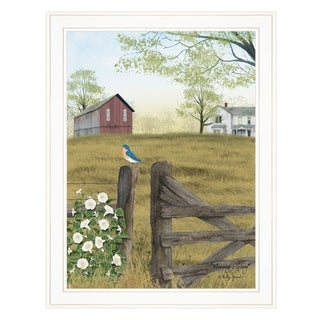 """""""Morning's Glory"""" by Billy Jacobs, Ready to Hang Framed Print, White Frame"""