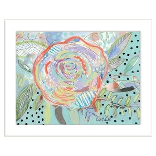 """""""Bloom for Yourself"""" by Kait Roberts, Ready to Hang Framed Print, White Frame"""