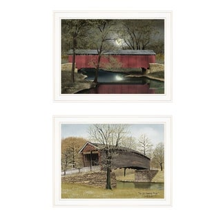 """""""Bridge Collection I"""" 2-Piece Vignette by Billy Jacobs, White Frame"""