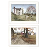 """""""The Road Home"""" 2-Piece Vignette by Billy Jacobs, White Frame"""