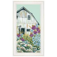 """""""Field Day on the Farm"""" by Michele Norman, Ready to Hang Framed Print, White Frame"""