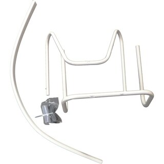 """A/C Safe Tubular """"No Tool"""" Support Bracket for Window Air Conditioners Up to 100 Lbs."""