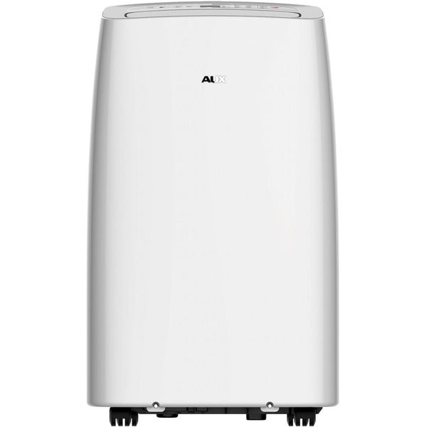 "Aux 115V Portable Air Conditioner with ""Follow Me"" Remote Control for Rooms up to 350-Sq. Ft."