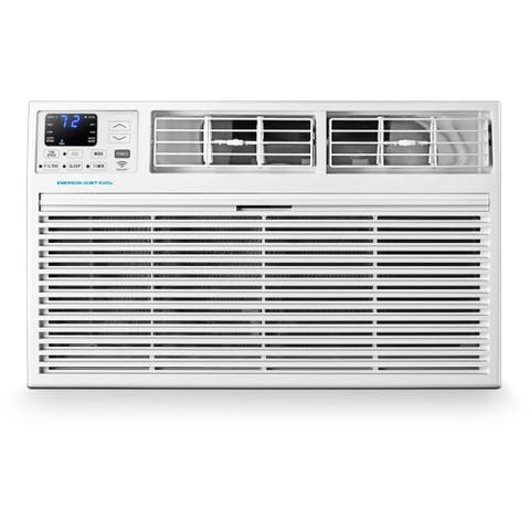 Emerson Quiet Kool 230V 14,000 BTU SMART Through-the-Wall Air Conditioner with 10,600 BTU Supplemental Heating