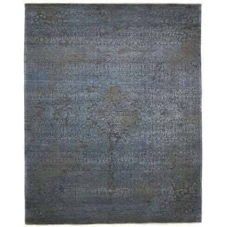 "Erase, Hand Knotted Area Rug - 9' 0"" x 11' 10"" - 9' x 11'10"""