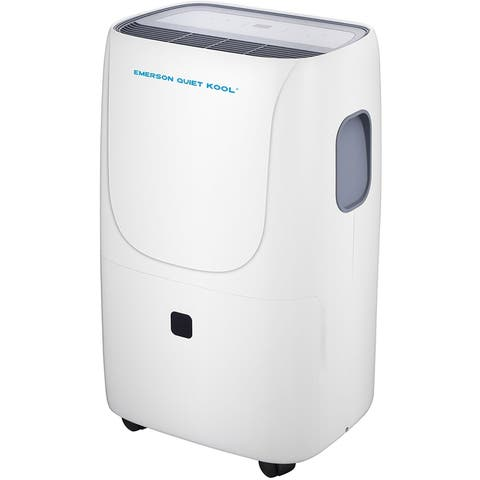 Emerson Quiet Kool Energy Star 70-Pint SMART Dehumidifier with Built-In Vertical Pump, plus Wi-Fi and Voice Control