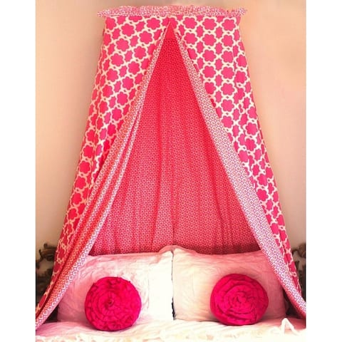 Mombasa Pink Blossom Bed Canopy
