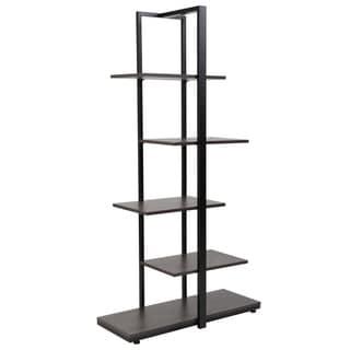 Lancaster Home Dark Brown 5-tier Shelf