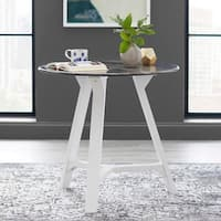 Simple Living Trevino Dining Table - Grey/White
