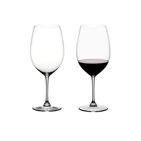 Riedel Vinum Bordeaux Grand Cru Wine Glass 33-Ounce