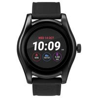 iConnect by Timex TW5M31500 Black Round Touchscreen Watch