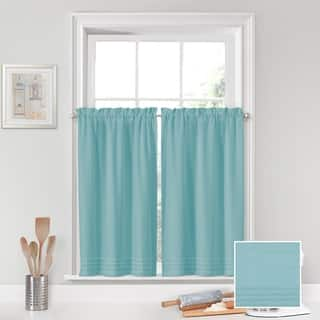 Vue Window Solutions Kingsbury pleated Tier Pair