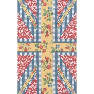 Madcap Cottage by Momeni Summer Garden Think of England Multicolored Area Rug