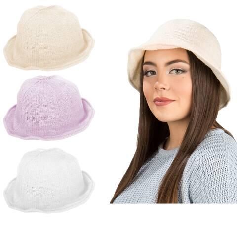 Women Sun Protection Bucket Hat