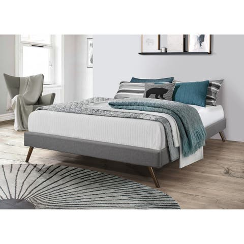 Carson Carrington Harg Upholstered Platform Bed