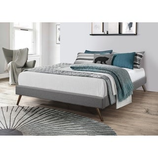 Link to Carson Carrington Harg Upholstered Platform Bed Similar Items in Bedroom Furniture