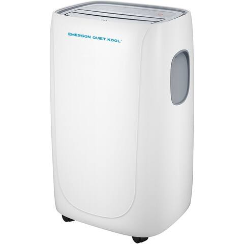 Emerson Quiet Kool SMART Heat/Cool Portable Air Conditioner with Remote, Wi-Fi, and Voice Control for Rooms up to 550-Sq. Ft.