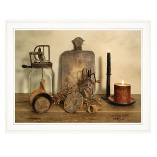 """""""Sweet Cream Butter"""" by Billy Jacobs, Ready to Hang Framed Print, White Frame"""