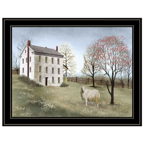 """Spring at White House Farm"" by Billy Jacobs, Ready to Hang Framed Print, Black Frame"
