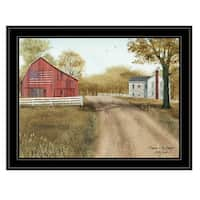 """""""Summer in the Country"""" by Billy Jacobs, Ready to Hang Framed Print, Black Frame"""