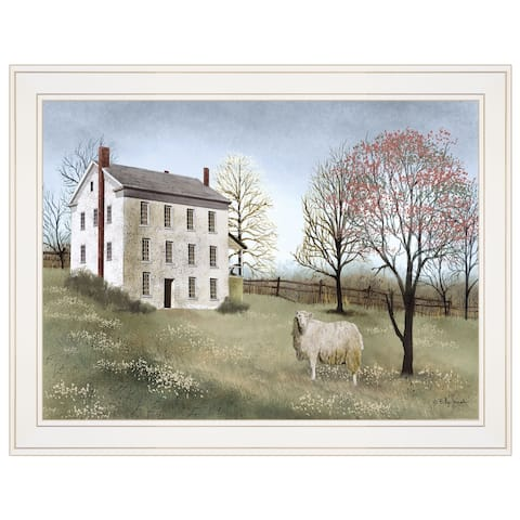 """Spring at White House Farm"" by Billy Jacobs, Ready to Hang Framed Print, White Frame"