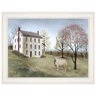 """""""Spring at White House Farm"""" by Billy Jacobs, Ready to Hang Framed Print, White Frame"""