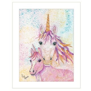 """""""Sprinkles and Starlight"""" by Lisa Morales, Ready to Hang Framed Print, White Frame"""