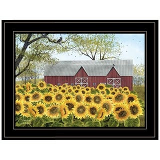 """""""Sunshine"""" by Billy Jacobs, Ready to Hang Framed Print, Black Frame"""