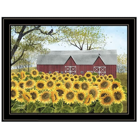 """Sunshine"" by Billy Jacobs, Ready to Hang Framed Print, Black Frame"