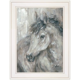 """True Spirit"" by Debi Coules, Ready to Hang Framed Print, White Frame"