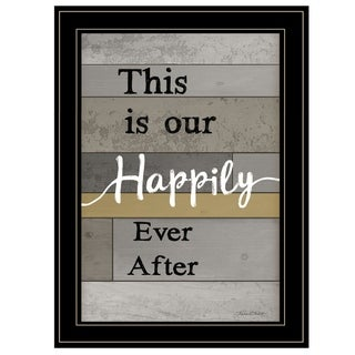 "Link to ""Happily Ever After"" by Karen Tribett, Ready to Hang Framed Print, Black Frame Similar Items in Art Prints"