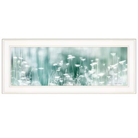 """Dreamy Meadow"" by Lori Deiter, Ready to Hang Framed Print, White Frame"