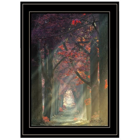 """""""Path of Happiness"""" by Martin Podt, Ready to Hang Framed Print, Black Frame"""
