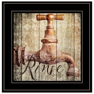 """""""Rinse"""" by Misty Michelle, Ready to Hang Framed Print, Black Frame"""