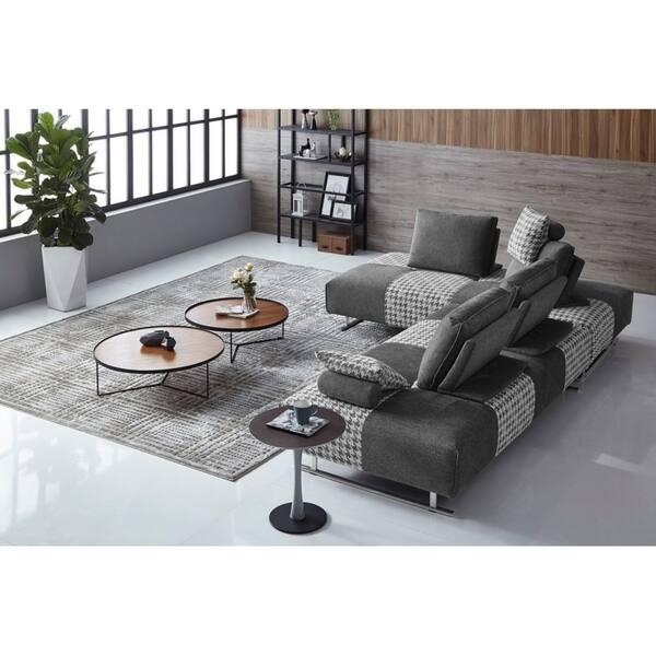 Outstanding Shop Strick Bolton Gavarni Grey Houndstooth Modular Uwap Interior Chair Design Uwaporg