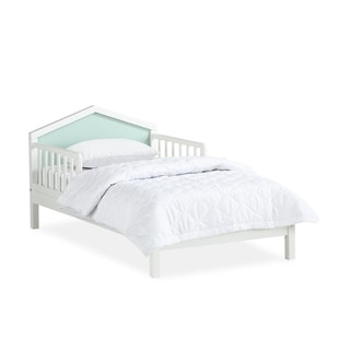 Novogratz Albie A-Frame Toddler Bed with Reversible Headboard