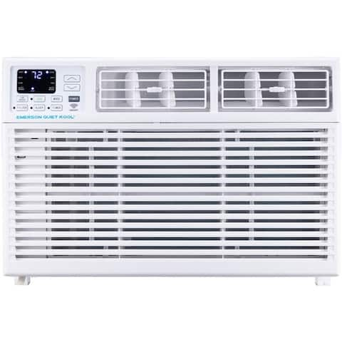 Emerson Quiet Kool 10,000 BTU 115V SMART Window Air Conditioner with Remote, Wi-Fi, and Voice Control