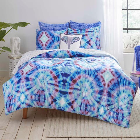 Ivory Ella Izzie Blue Duvet Cover Set