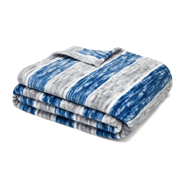 Nautica Perfect Stripe Ultra Plush Throw