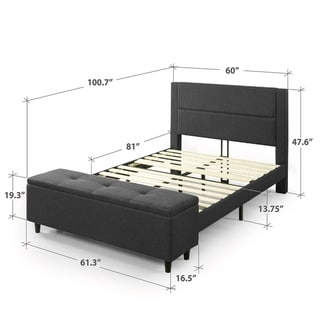 Storage Fabric Beds Online At Our Best Bedroom Furniture Deals