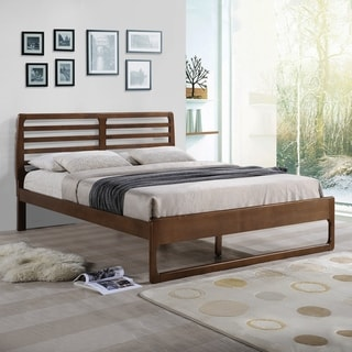 Cindy Transitional Wooden Queen Platform Bed by Christopher Knight Home