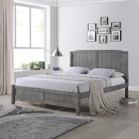 Cloves Rustic Wooden Queen Platform Bed by Christopher Knight Home