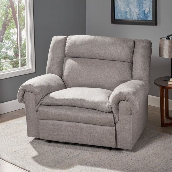 Strange Shop Farman Oversized Fabric Recliner By Christopher Knight Gmtry Best Dining Table And Chair Ideas Images Gmtryco