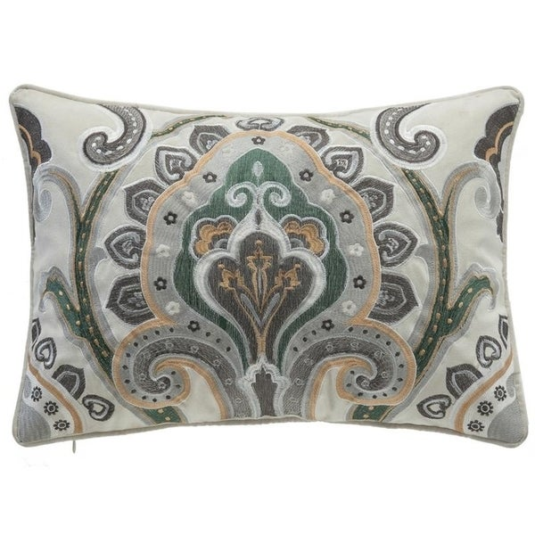 Fresh Embroidered Pillow