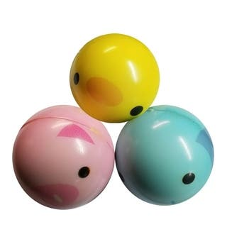 Dimple Easter Toys, 2.5 Animal Squeeze Balls