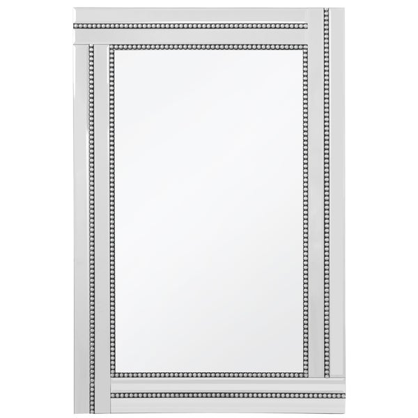 Princeton Beaded Frame Mirror