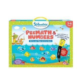 Skillmatics PreMath and Numbers Activity Mats