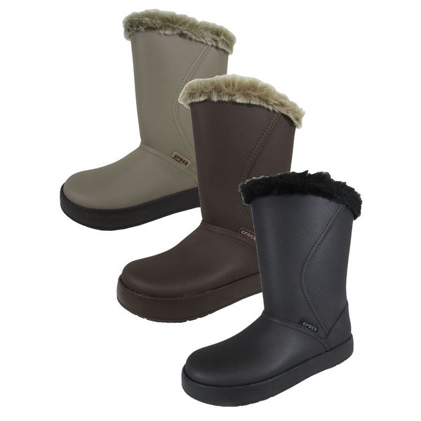 275d70921ef2d Shop Crocs Womens 'ColorLite Mid Boots' - On Sale - Free Shipping On ...
