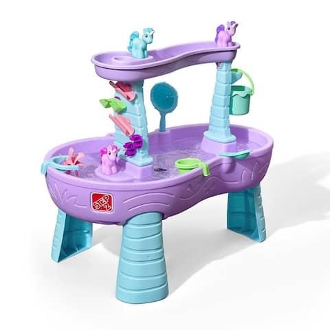 Rain Showers & Unicorns Water Table - Purple